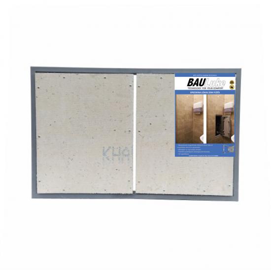 Inspection Door Magnetic Push Under Ceramic Tiles Steel Access Panel BAULuke ST80/2x60